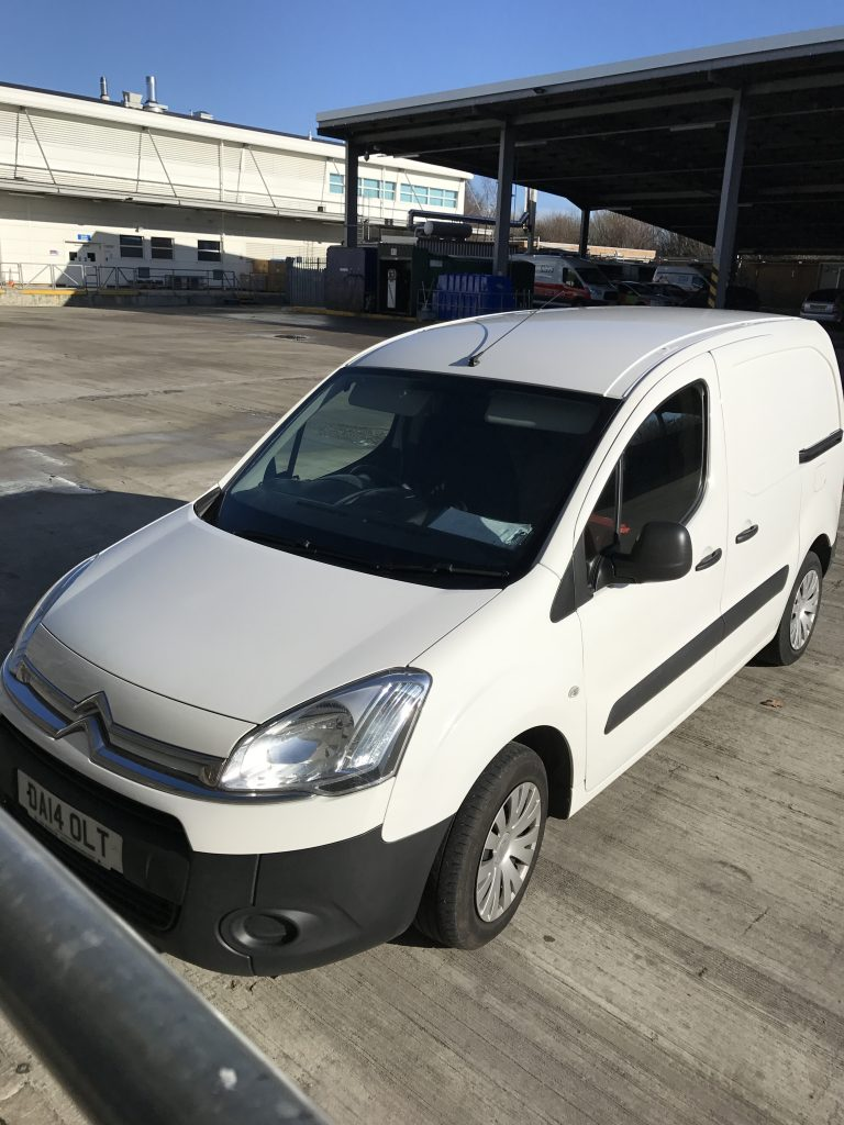 courier small van